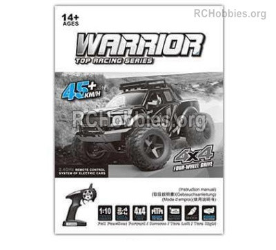 Subotech BG1525 Manual instruction Parts for the BG1525 RC Car